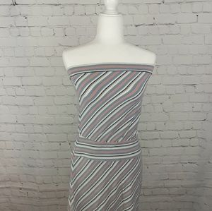 Ann Taylor Loft Nautical Tank Dress Size XS